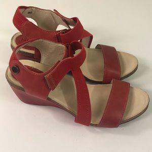 Shoes - Bussola LaHabana wedge Sandals.